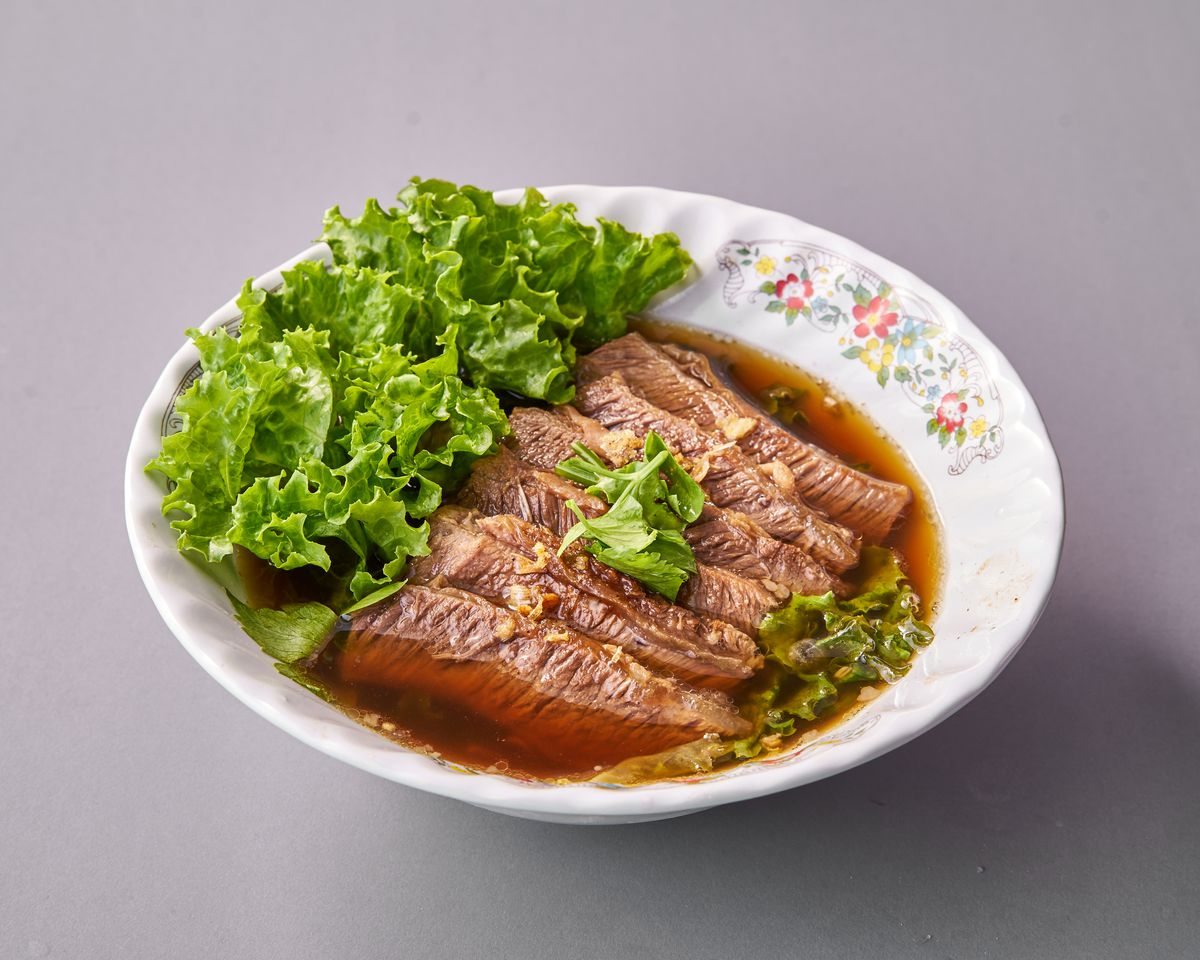 The braised beef noodle soup at Ten Sun. | Courtesy Ten Sun