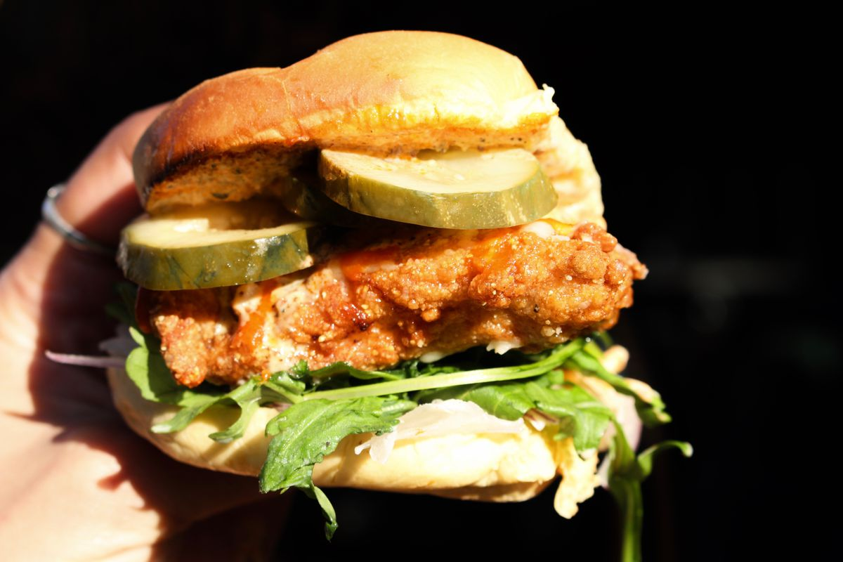 The Crispy Bird sandwich at Streetbird.
