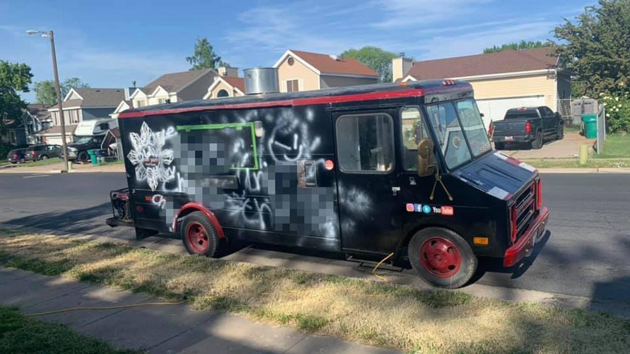 Food Truck Vandalism