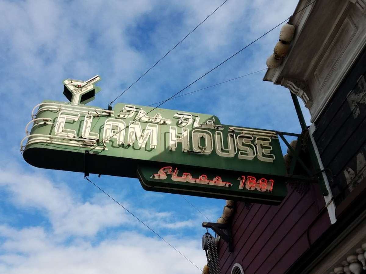 The Old Clam House at 299 Bayshore Blvd in San Francisco is up for sale, and its owners are retiring.