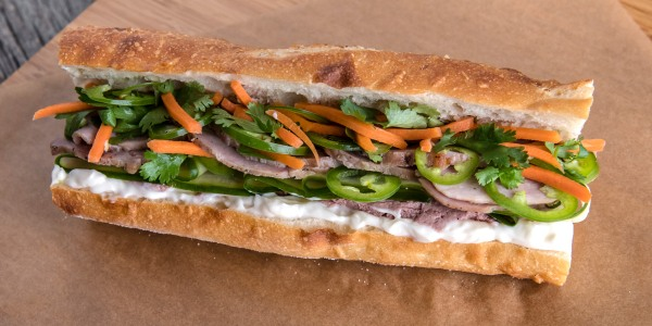 Jet Tila's Banh Mi Sandwich