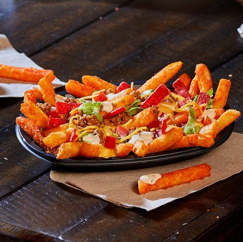 loaded taco bell nacho fries