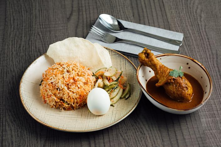 Nasi Briyani by Foodie Story. (PHOTO: STB)