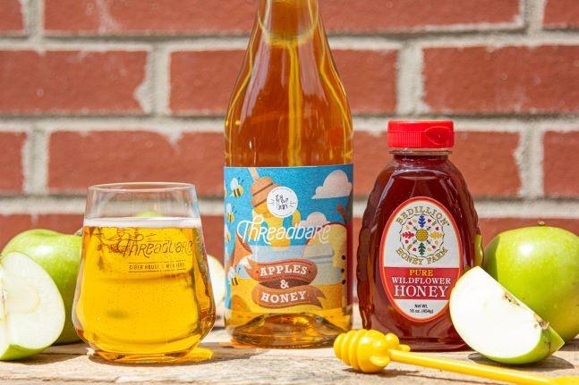 Apples & Honey by Threadbare - PHOTO: COURTESY OF THREADBARE CIDER HOUSE & MEADERY
